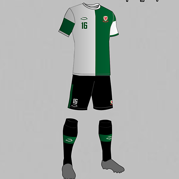 Wales National Football Team Away Kit 2016