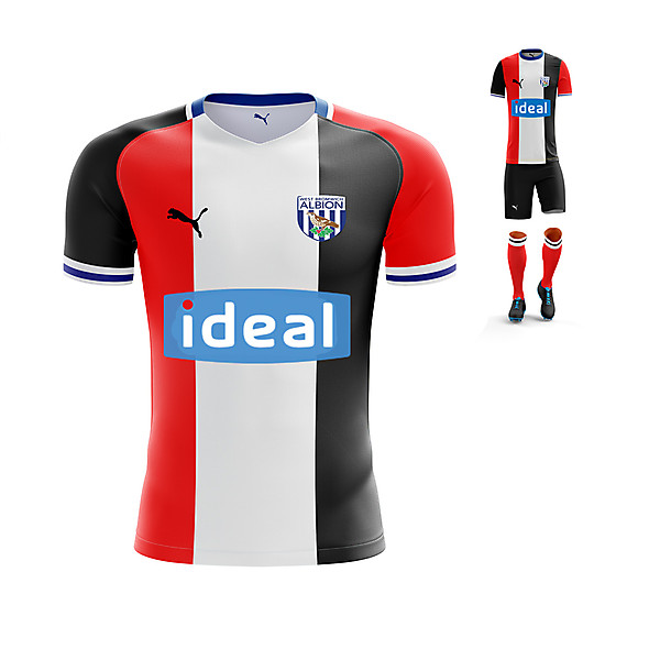 WBA 3rd kit (Black Country Flag) Concept