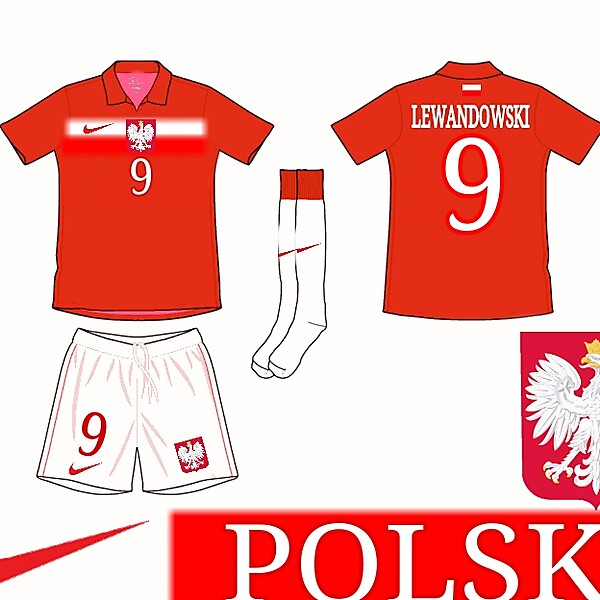 WC Kits - Poland Away Kit