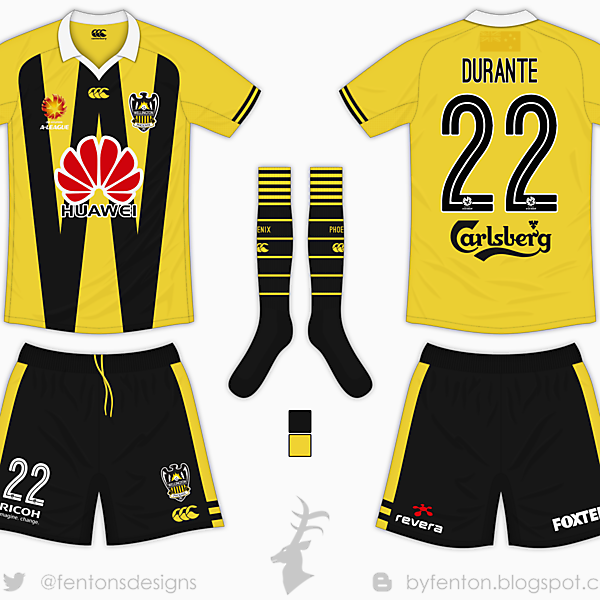 Wellington Phoenix Home Kit - Canterbury