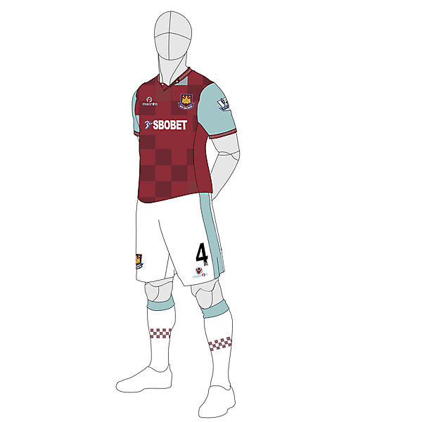 West Ham Utd Home 2013