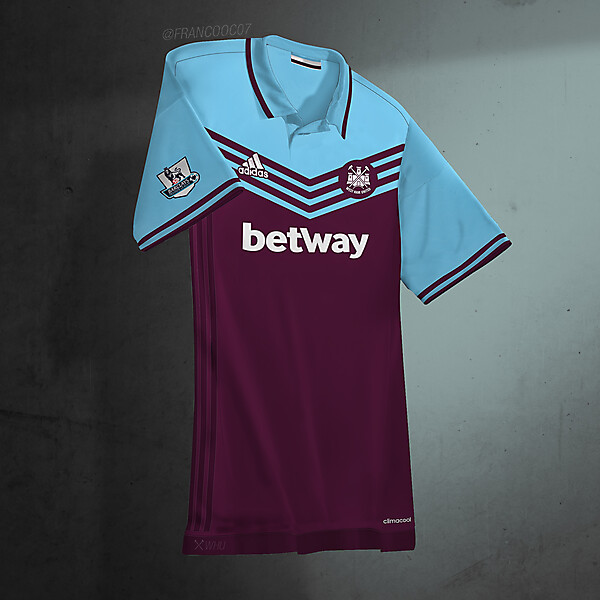 WEST HAM UNITED - HOME 16/17