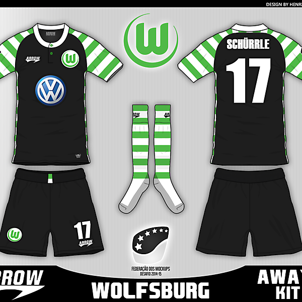 Wolfsburg - Away kit - Fantasy