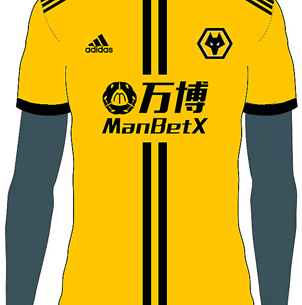 Wolves Home Kit Concept