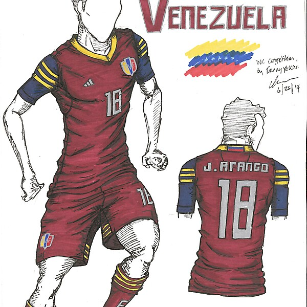 World Cup Competition - Venezuela - by Irvingperceni
