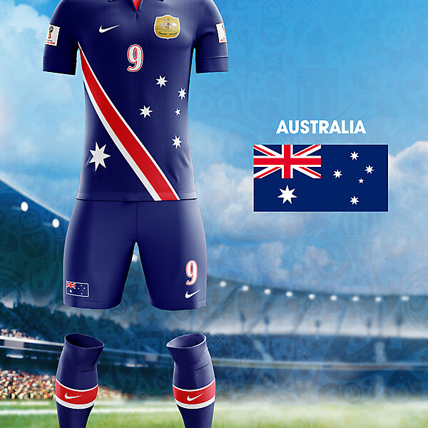 World Cup Flag Kit: AUS