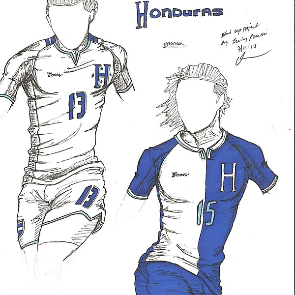 World Cup Project by Irvingperceni - Group E - Honduras