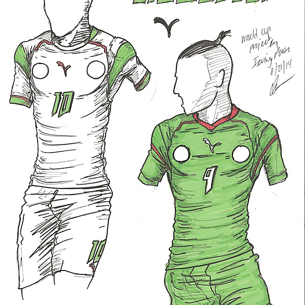 World Cup Project by Irvingperceni - Group H - Algeria