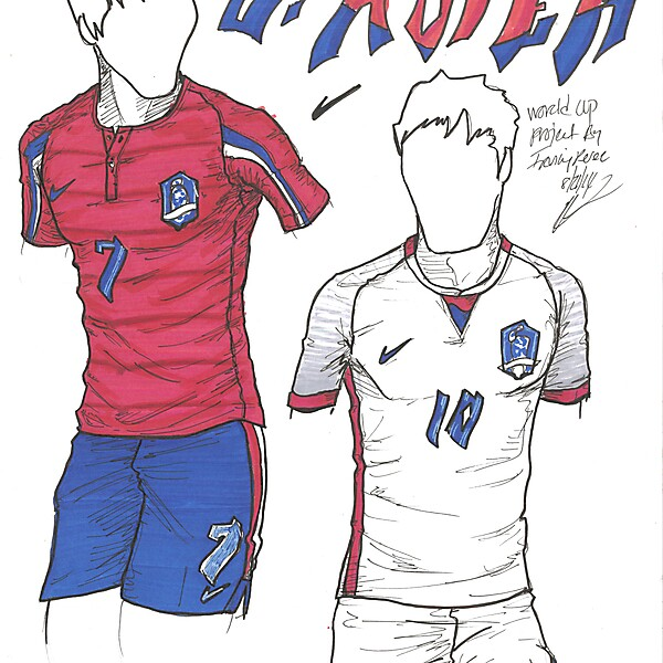 World Cup Project by Irvingperceni - Group H - South Korea