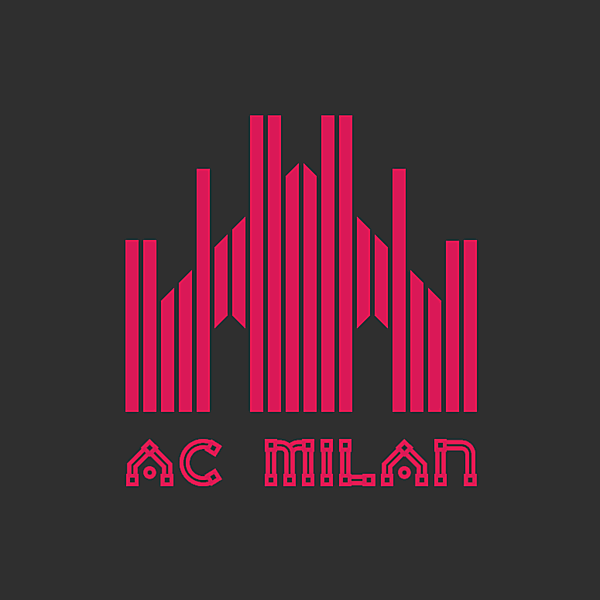 AC Milan alternative logo concept.