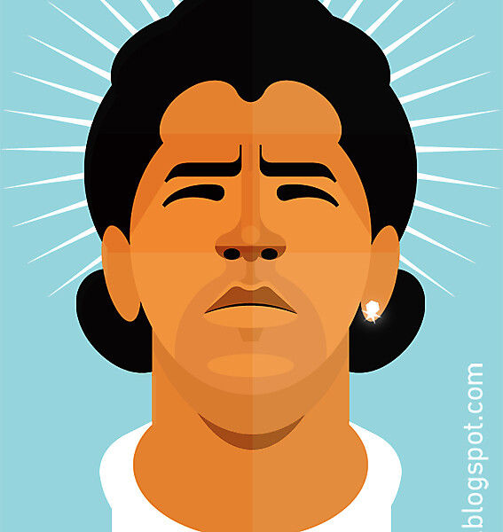 Maradona - Illustration