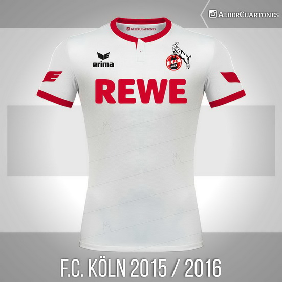 F.C. Köln 2015 / 2016 Home Shirt