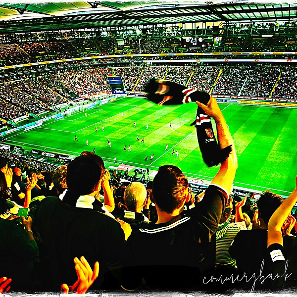German Football Fans in flight