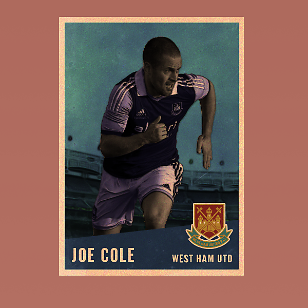 Joe Cole Vintage Style card