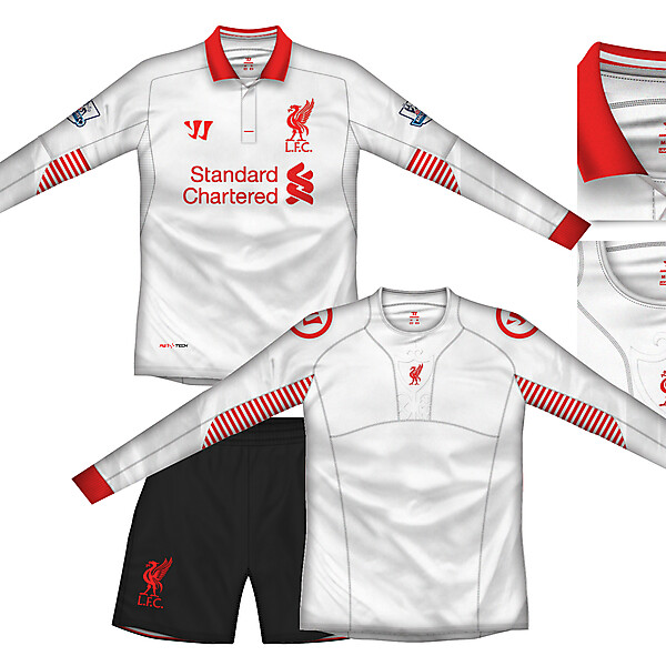 Liverpool Away Kit with baselayer