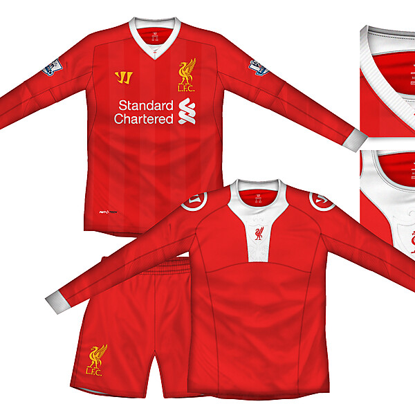 Liverpool Home Kit with baselayer