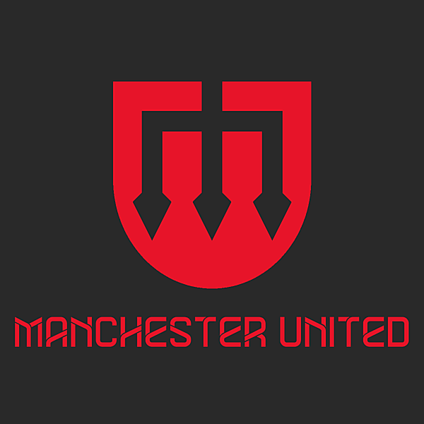Manchester United logo concept