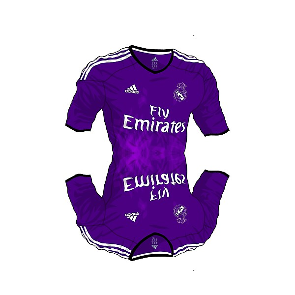 Mirror Real Madrid Third Kit (Techfit Project)