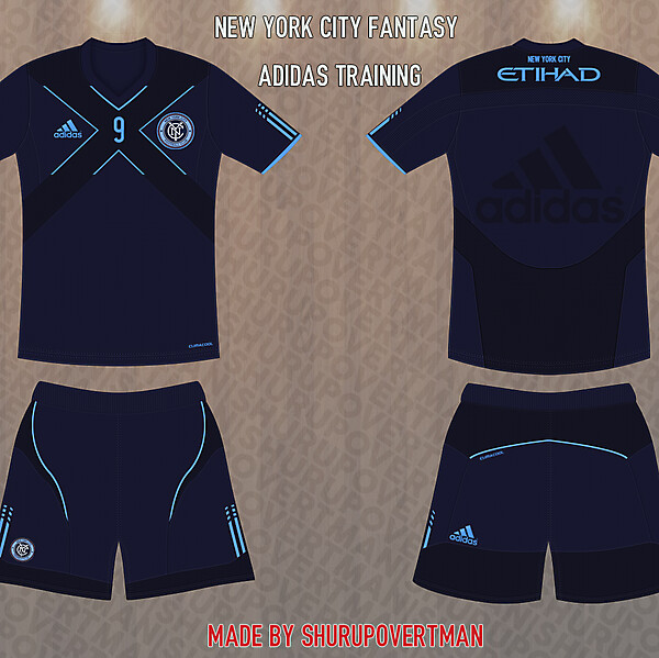 New York City Fantasy Adidas Training Kit