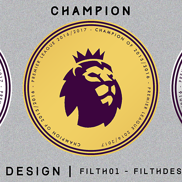 Patch Design of New Premier League Logo