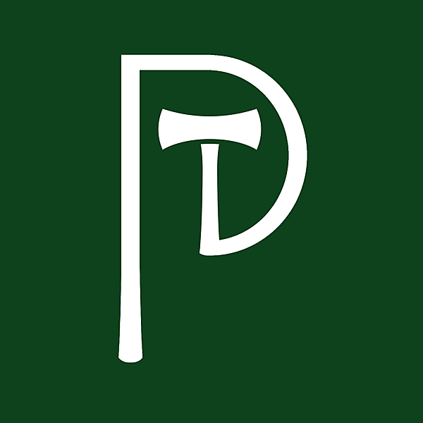 Portland Timbers alternative logo, update on the current logo.