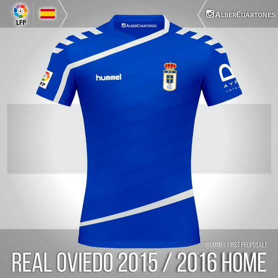 Real Oviedo 2015 / 2016 Home Shirt