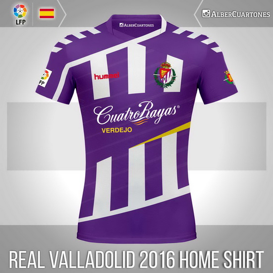 Real Valladolid 2015 / 2016 Home Shirt