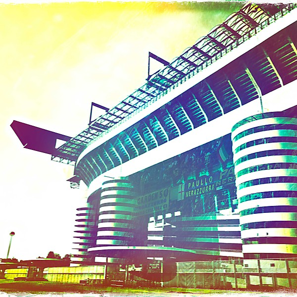 San Siro during the day