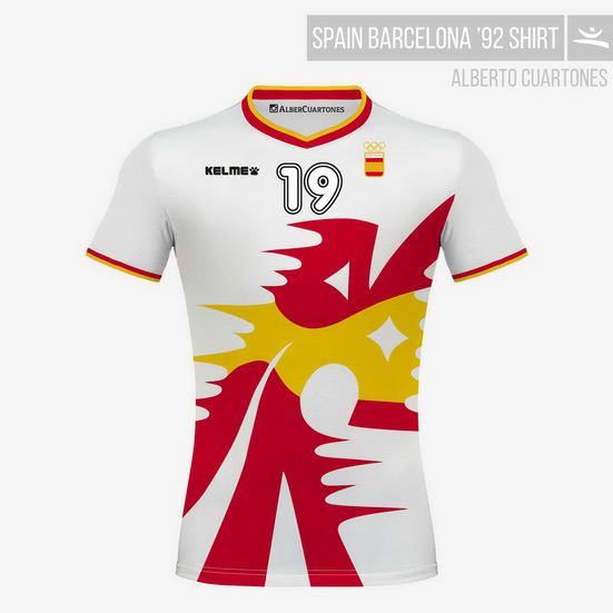 Spain Olympic Games Barcelona '92 White Shirt