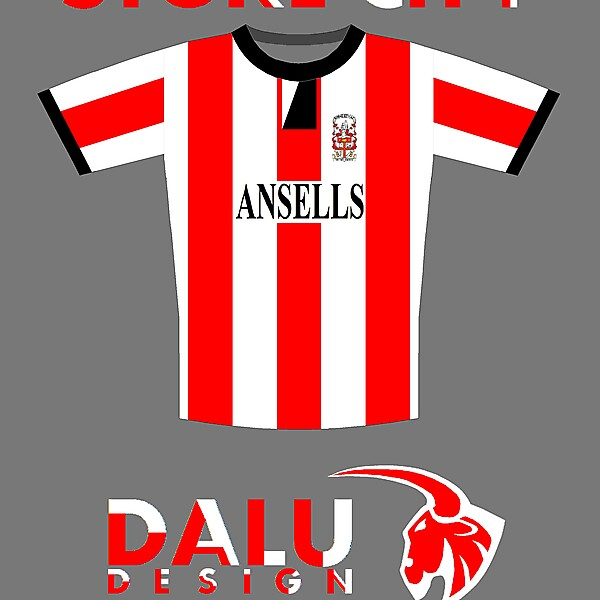 Stoke City Fan T-shirt