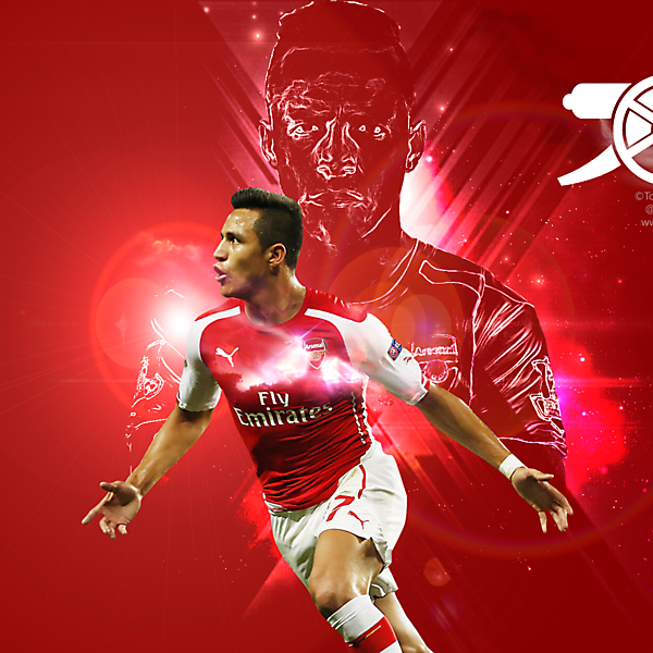 Wallpaper Alexis Sanchez