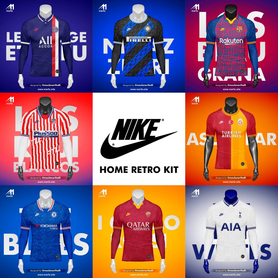 NIKE HOME RETRO FANTASY KIT 2019/2020 - www.marfa.site