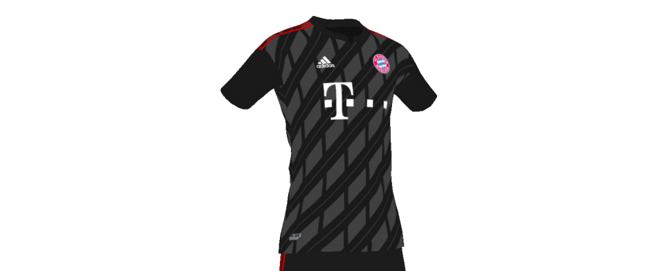 Bayern away concept kit