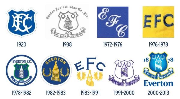 Everton unveil new Crest