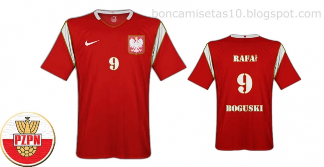 The best Poland shirt ever (hope the judges think so)