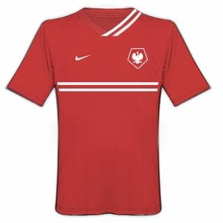 Poland Nike Kits Home - Second Version