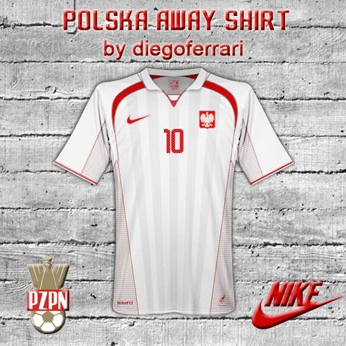 Polska Away Shirt by diegoferrari