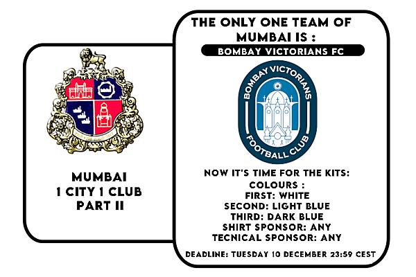 1 CITY 1 CLUB - MUMBAI - PART II - KITS