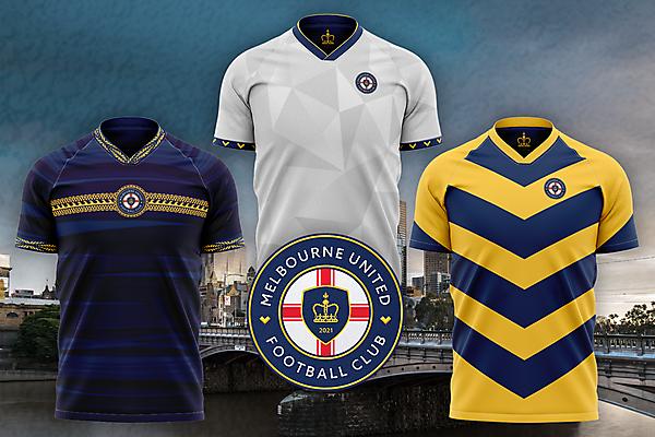 Melbourne United FC Kit