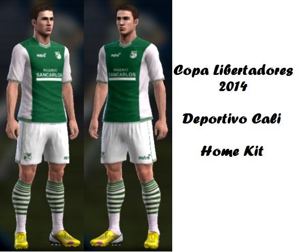 Deportivo Cali Home Kit
