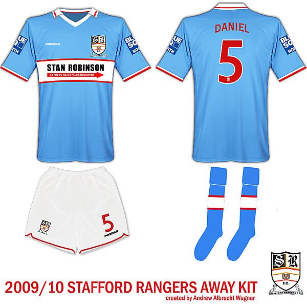 Stafford Rangers Away Kit
