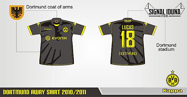 Dortmund Away Shirt ver.01