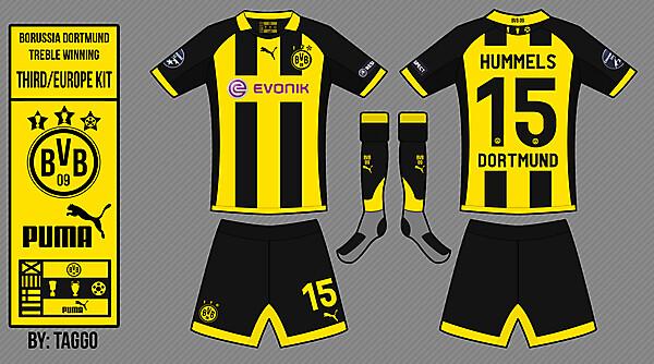 Borussia Dortmund Third / Europe Kit