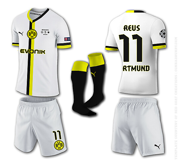 Borrusia Dortmund Away Kit