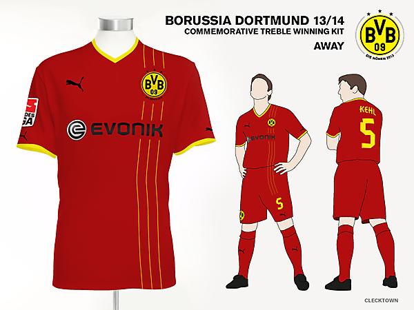 Borussia Dortmund Away Kit