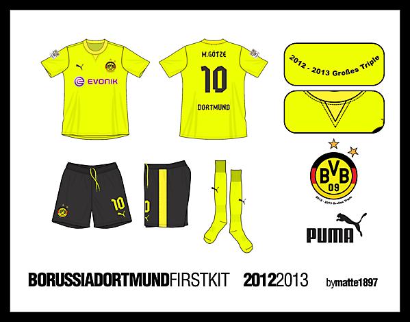 BVB First Kit (Bundesliga Version)