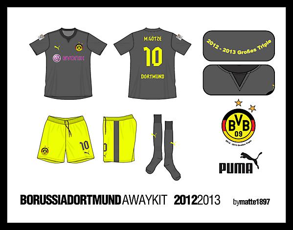 BVB Away Kit