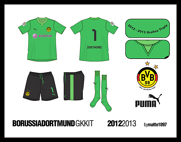 BVB Goalkeeper\'s Kit