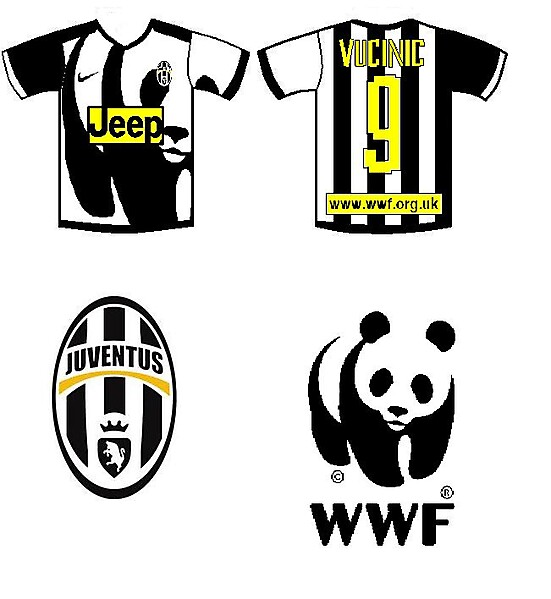 Juve WWF home kit