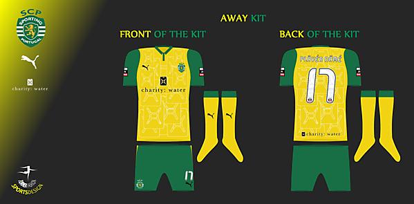 Sporting Clube de Portugal - Away Kit